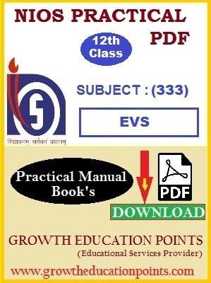 evs practical file free