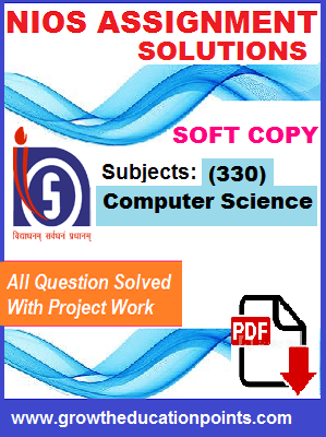 computer Science solved TMA