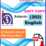 Nios English-302 Solved Assignment