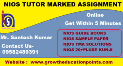 Nios solved Assignment Question