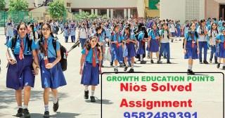 Nios Solved Assignment 2021-22