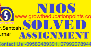 Nios Solved Assignment Pdf 2020-21