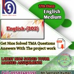 English-302 Solved Assignment pdf
