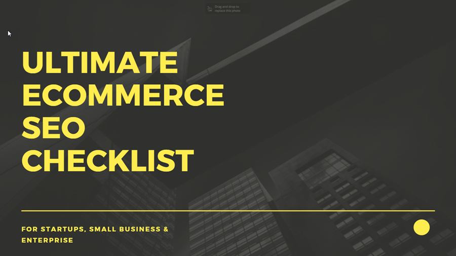 Ultimate eCommerce SEO Checklist