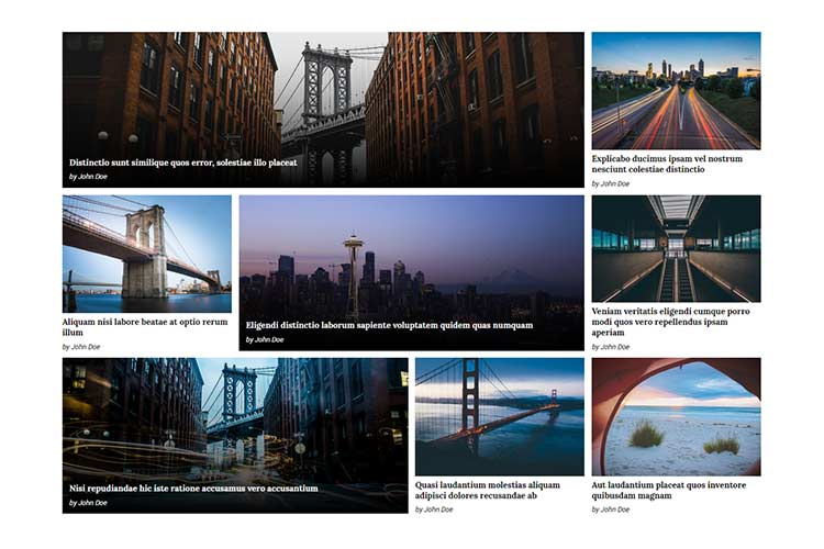 Excellent News and Magazine CSS Layouts