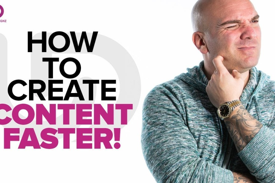 Content Creation 2020: How To Create Content Faster - The Brand Doctor