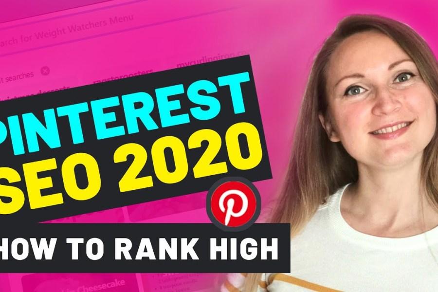 PINTEREST SEO 2020 BEST STRATEGY | The Main Ranking Factors to Get Pinterest Traffic