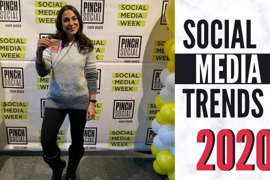 SOCIAL MEDIA TRENDS 2020 - Takeaways from Social Media Week Toronto 2019