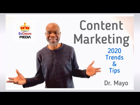 2020 Content Marketing Trends & Tips