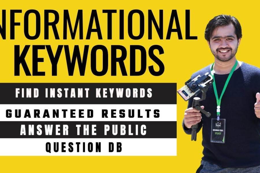 Informational keyword Research: Advance Keyword Research for SEO 2020