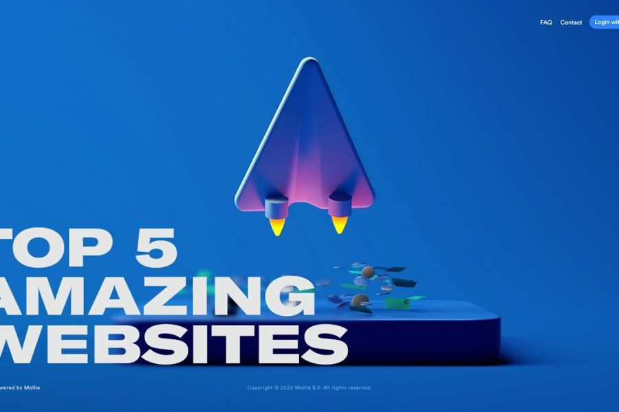 TOP 5 WEBSITES EVERY WEB DESIGNER SHOULD VISIT: Mind-blowing web design | March 2020