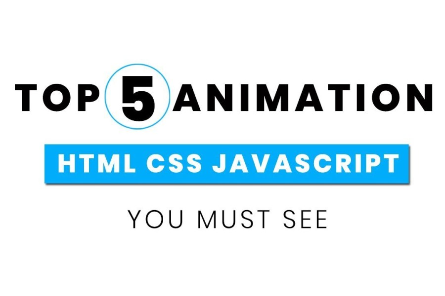 Top 5 Awesome Animations You Must See   Web Design Inspiration