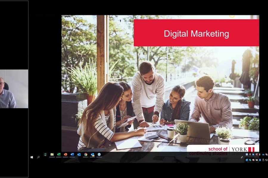 Certificates in Digital and Content Marketing Webinar Info Session Jan 2020