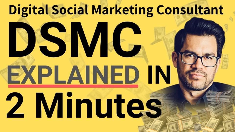 Tai Lopez DSMC [Digital Social Marketing Consultancy] Explained in 2 minutes