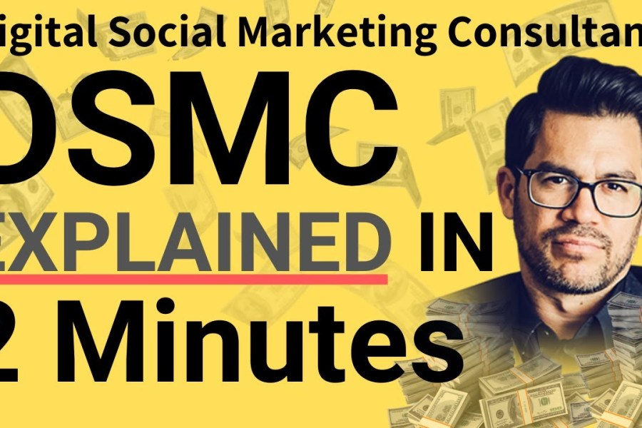 Tai Lopez DSMC [Digital Social Marketing Consultancy] Explained in 2 minutes