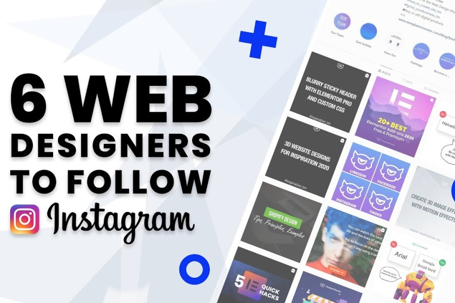 Web Design Inspiration 2020: 6 UI/UX Designers to follow on Instagram | TemplateMonster
