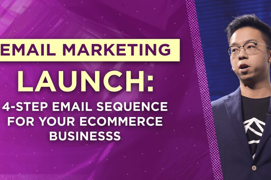 Email Marketing Launch: 4-Step Email Sequence For Your Ecommerce Business