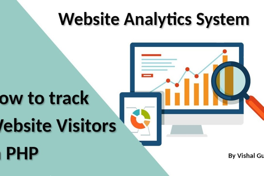 How to track  Website Visitors in PHP | Website Analytics System