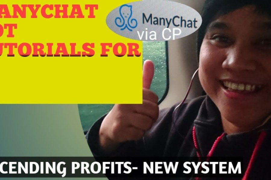 MANYCHAT USING CP MARKETING STRATEGY ASCENDING PROFITS UNITY NETWORK STEP BY STEP TUTORIAL