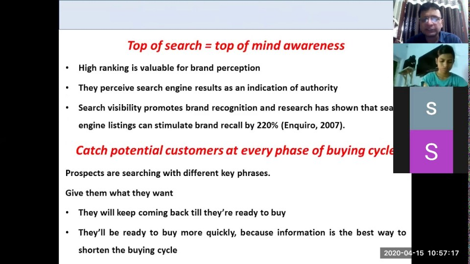 Search Engine Marketing: Introduction to SEO and Pay Per Click
