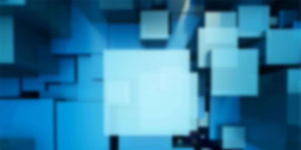 square background blur