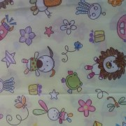 Nursery print wet bag