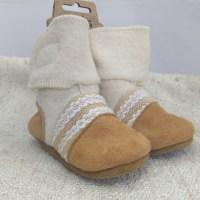 Nooks boots cream 12-18m