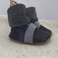 Nooks boots blue grey 12-18m