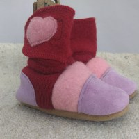 Nooks red and lilac 6-12m
