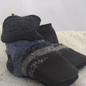 Nooks black and blue 6-12m