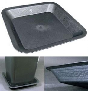 Sottovaso quadrato FINO 3 L