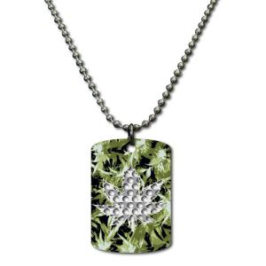 Collana Grinder Card Leaf