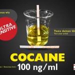 Test delle urine Striscia Cocaina standard