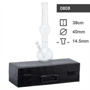 GLASS BONG IN BOX H 39CM