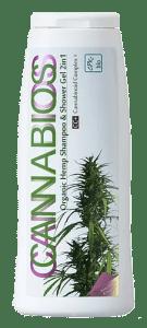 Gel shampoo e doccia di canapa biologico 2in1 250Ml