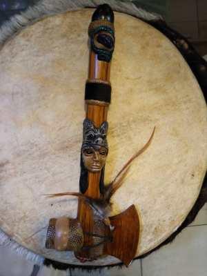 Pipa accetta In Legno From Amazonia