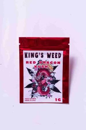 Red Dragon Kush KING'S WEED