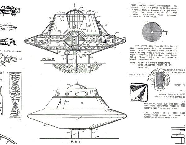 100 + UFO PATENTS