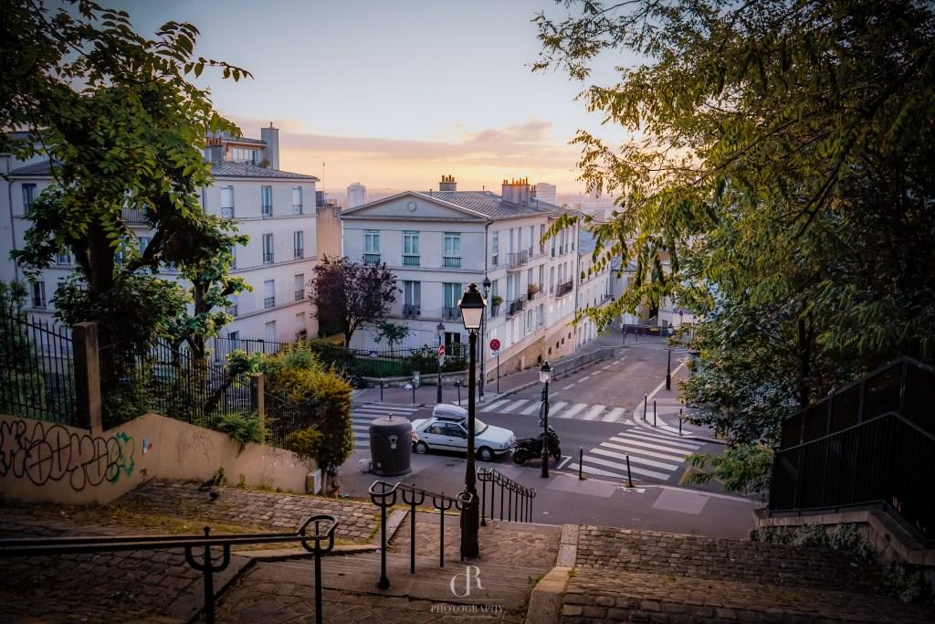 Sunrise Montmartre Paris
