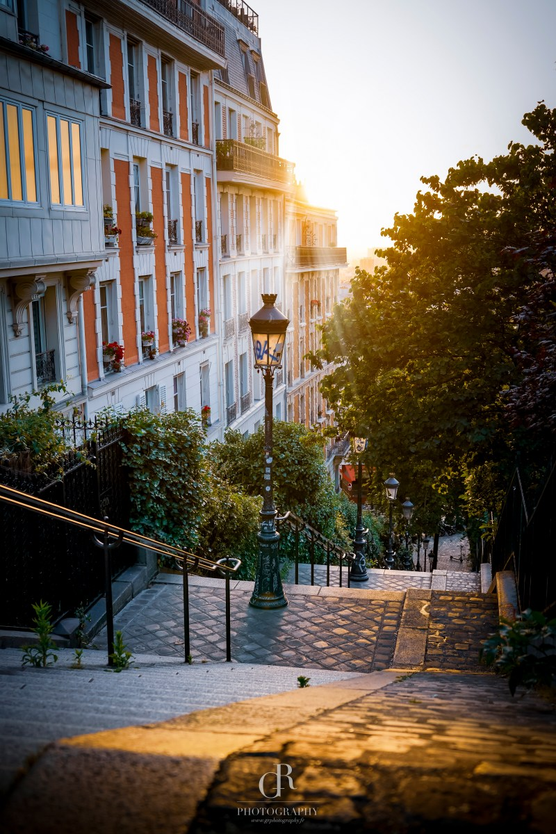 Montmartre Sunrise Paris