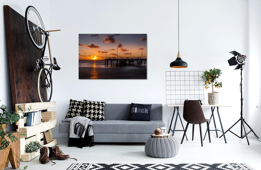 Wall Preview Moulleau Pier Print