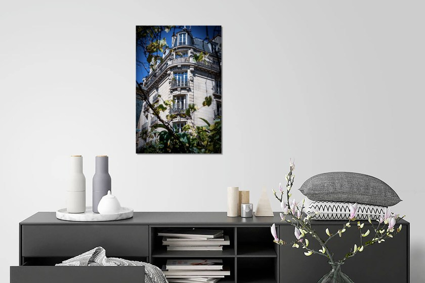 Wall Preview Parisian Building Print