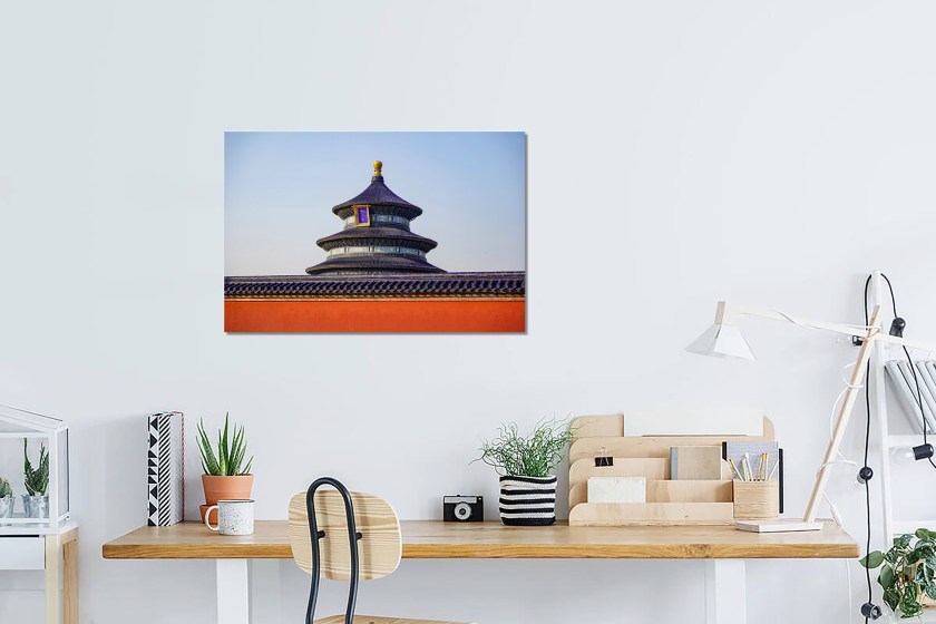 Wall Preview Heaven Temple Print