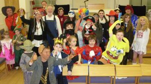 GRS Purim party