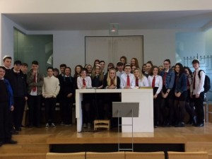 Cathkin HS students visit to GRS