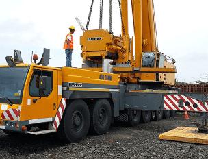 Alquiler grúas Panamá - montadas sobre camión GRÚAS SHL