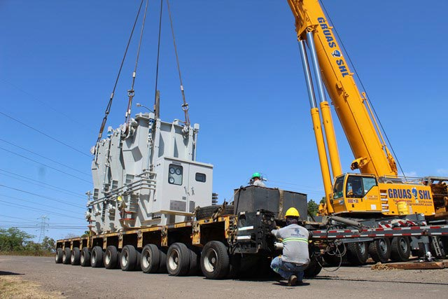 Grúas Transporte Pesado en Panamá Heavy Transport- Gruas SHL