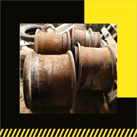 GMK 20.5R25 Wheel Rim- Venta de Partes- Grúas SHL