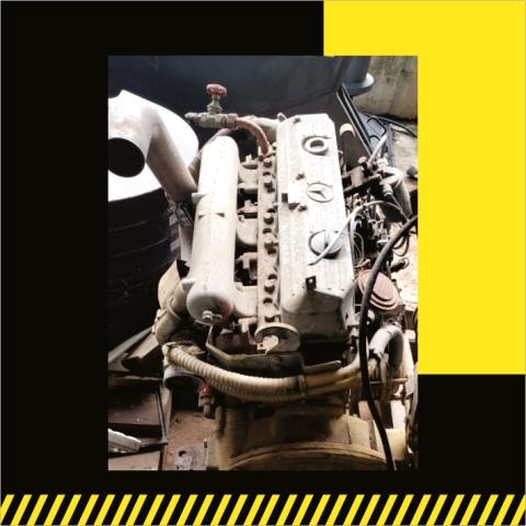 Motor Mercedes OM366A- Venta de partes- Grúas SHL