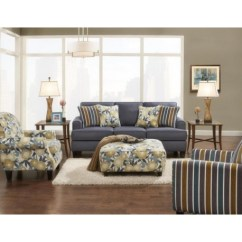 Denim Living Room Furniture How To Design A Small Layout Max Sofa Collection Grubbs And Appliances
